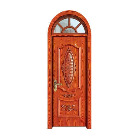 Carving patterns wooden front door