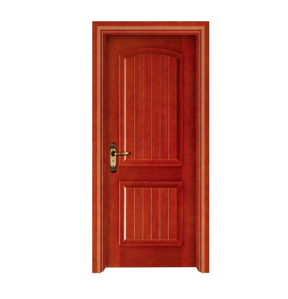 Simple lines Wooden Entrance Doors