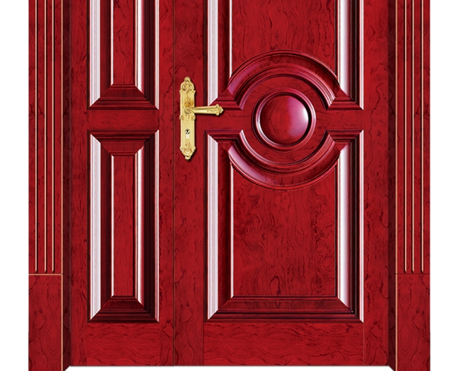 combination patterns wooden front door