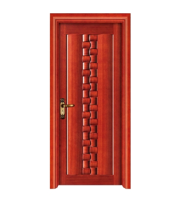 Small case grain wooden front door