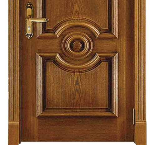 Minimalist combination patterns wooden front door