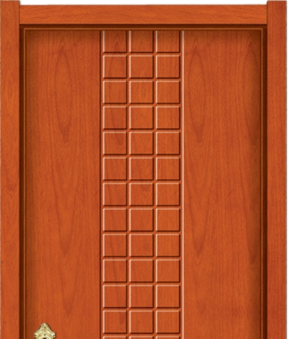 Small case grain wooden flush door