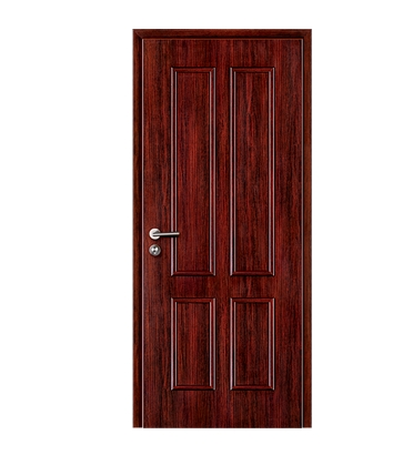 Double stripes wooden flush door