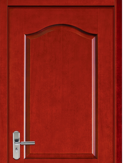 Minimalist patterns wooden flush door