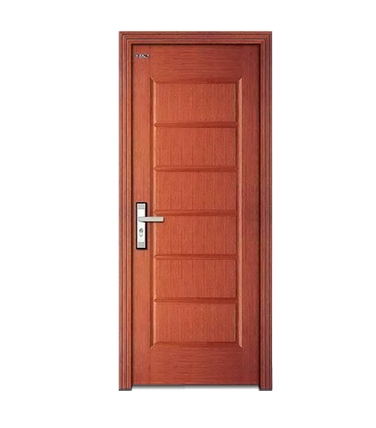 Rectangular patterns wooden flush door