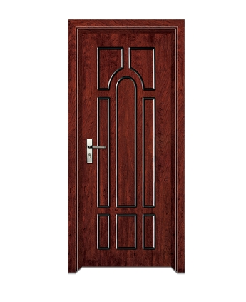 Small rectangular patterns wooden flush door