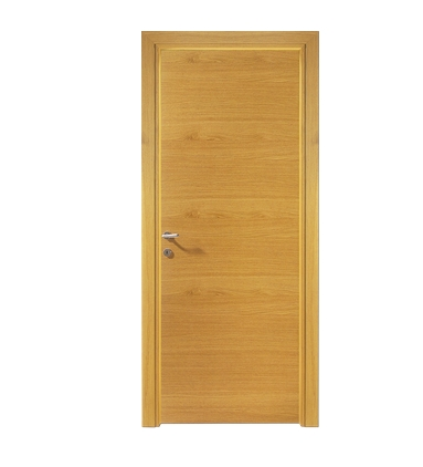 Lines lozenge wooden flush door for Wood door manufacturers