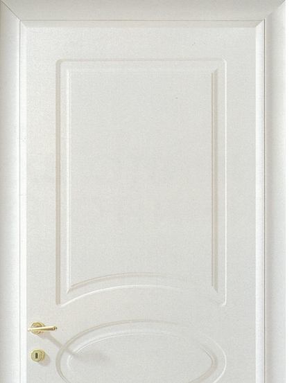 Light-colored combinations patterns wooden flush door