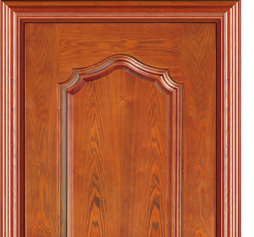 3D patterns wooden panel door