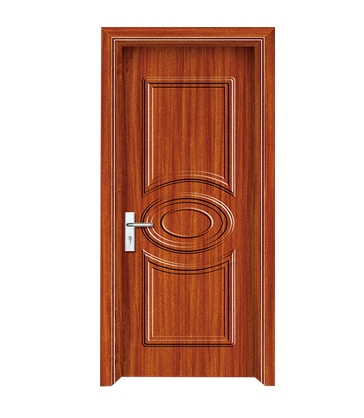 Geometric pattern PVC Door