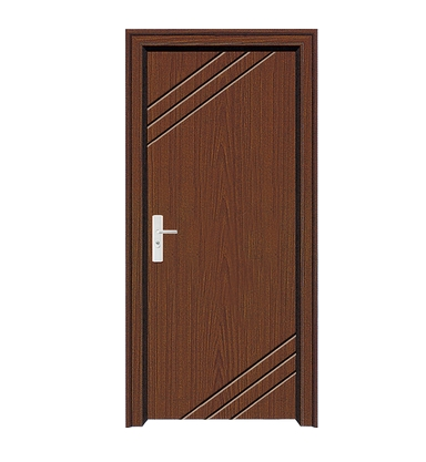 Three lines PVC Door