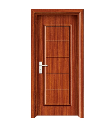 Rectangular patterns panel PVC door
