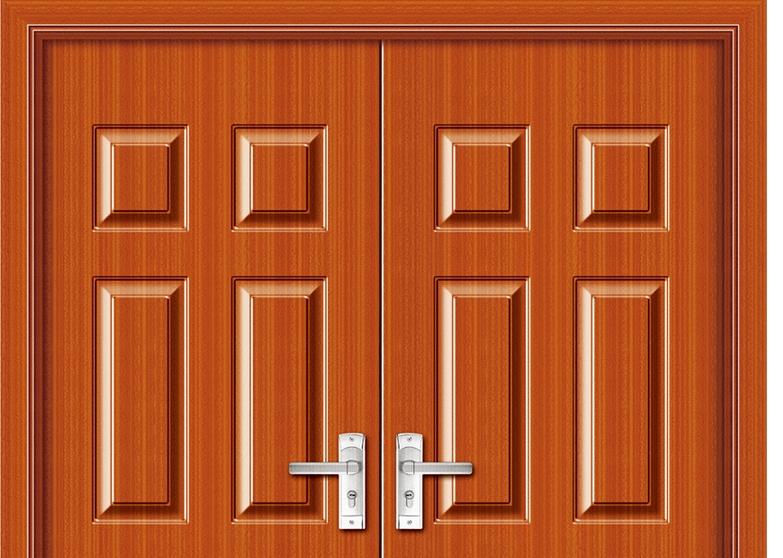Phenomenal Rectangular Patterns Panel Pvc Double Leaf Door Largest Home Design Picture Inspirations Pitcheantrous
