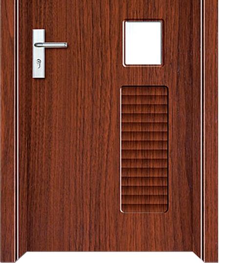 Pvc Panel Doors : Louver panel pvc door