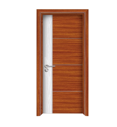 Minimalist PVC wooden door