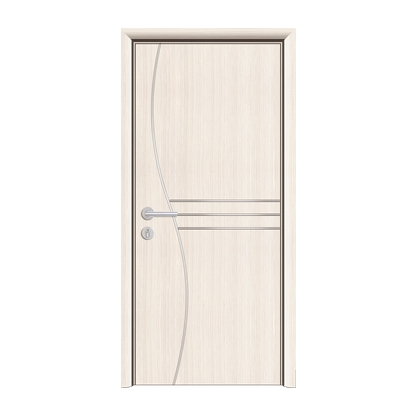 S-type lines PVC wooden door