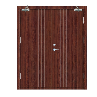 Minimalist patterns Fire Rated Commercial Wood Door