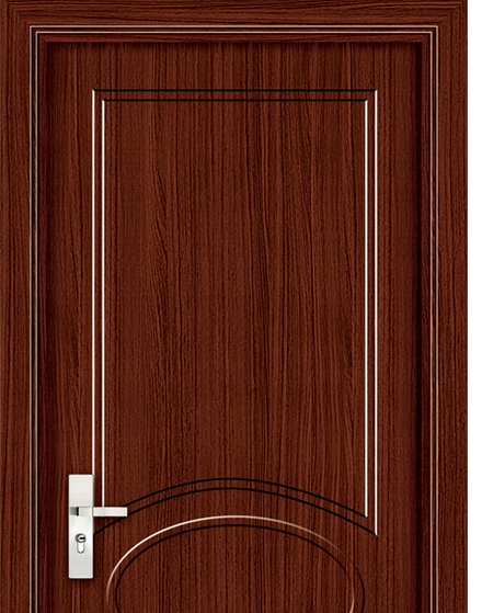 Modern patterns panel PVC door