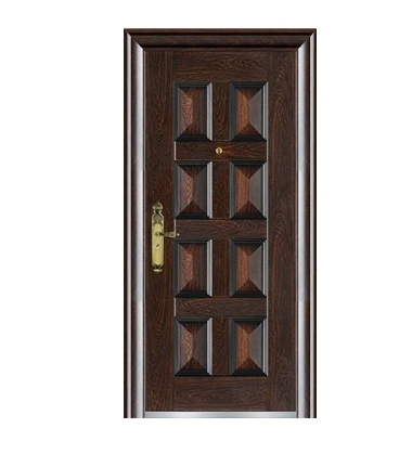 Case grain steel front door