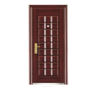 Case grain steel security door