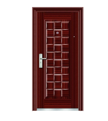 Small case grain steel security door