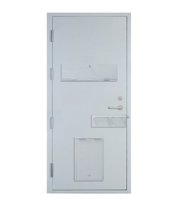 Multipurpose steel security door