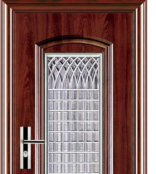 Mesh series steel security door