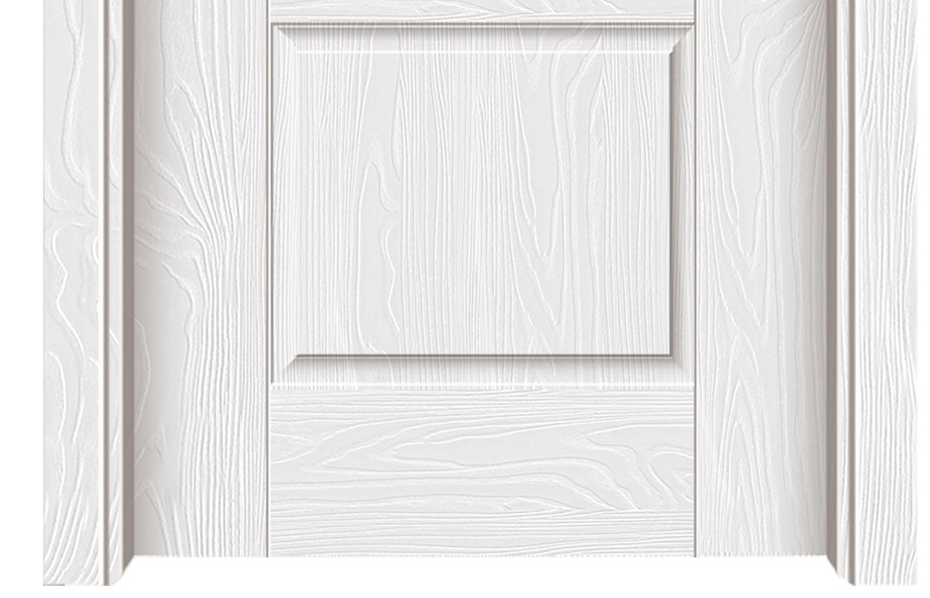 Simple Series melamine flush door