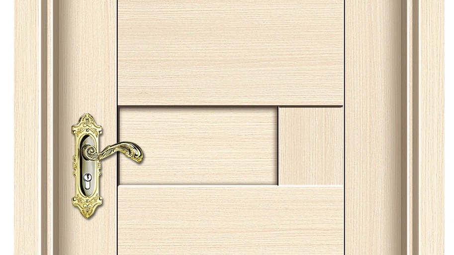 Fashion patterns melamine flush door