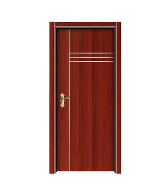Lines melamine flush door