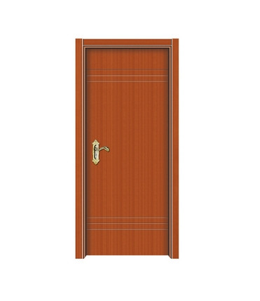 three lines melamine flush door