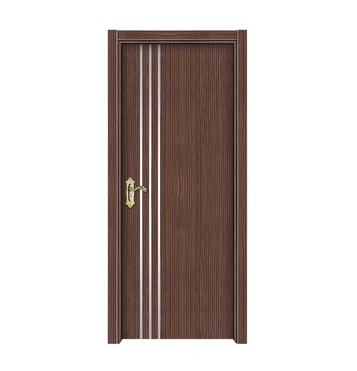 3 lines melamine flush door