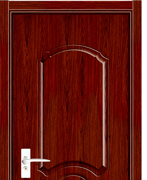 Popular melamine flush door