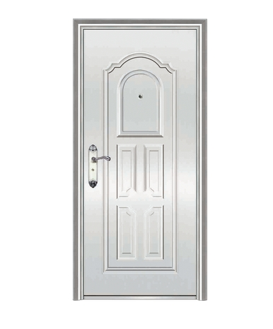 Classic stainless steel door