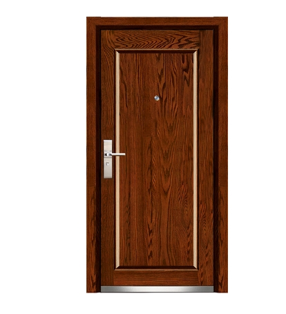 Minimalist steel wooden entry door for Wood door manufacturers
