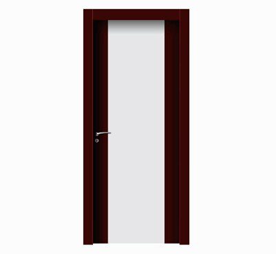 Personalized fashion wood plastic composite door
