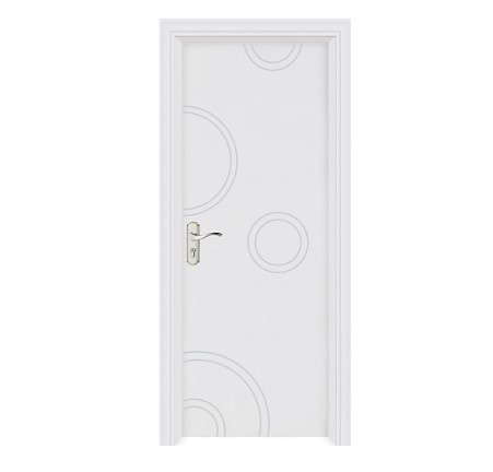 White fashionable WPC door