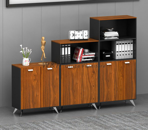 Multipurpose wooden file cabinet