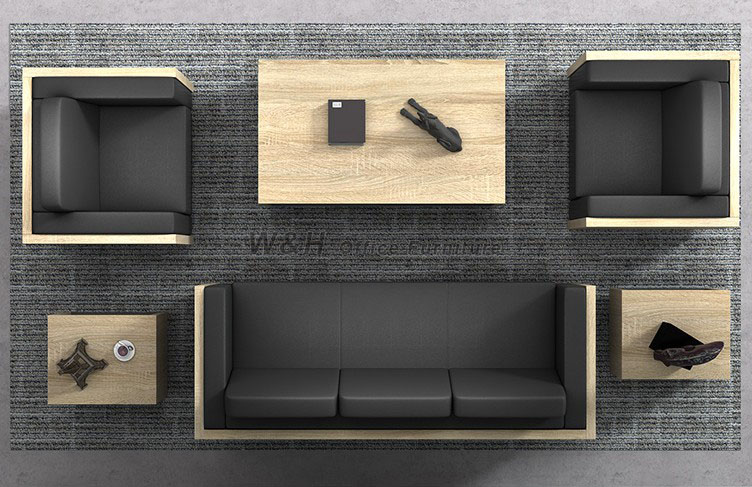 Minimalist office business sofa