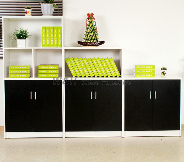 Multi-purpose white file cabinet