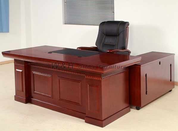 Manager's luxurious solid wood office table