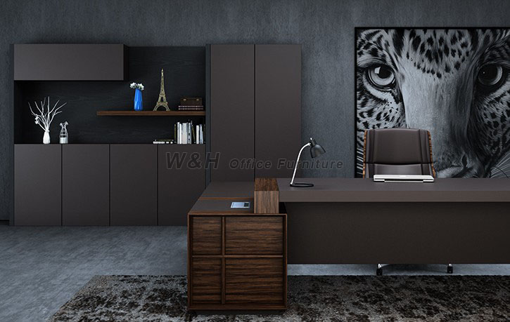 Stylish and modern high-end office desk