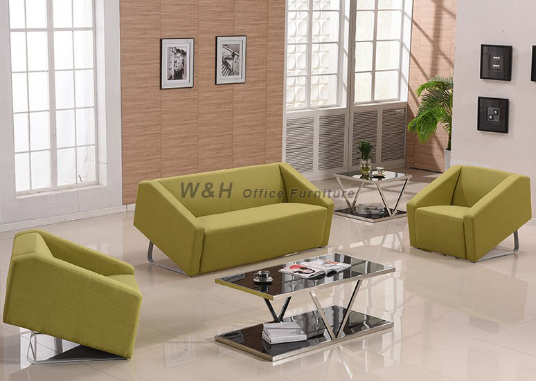Stylish business fabric sofa