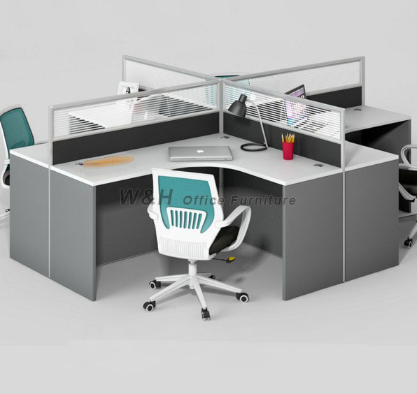Stylish modern style office cubicles