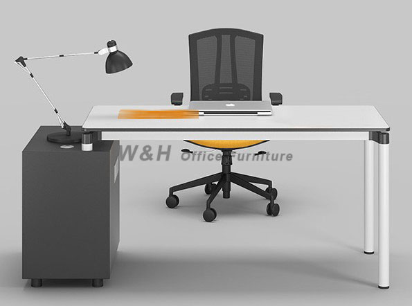 Minimalist modern office table
