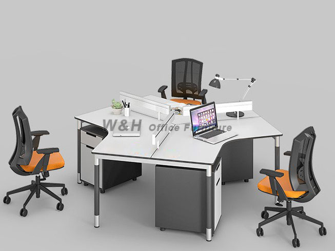 Modern minimalist combination office tables