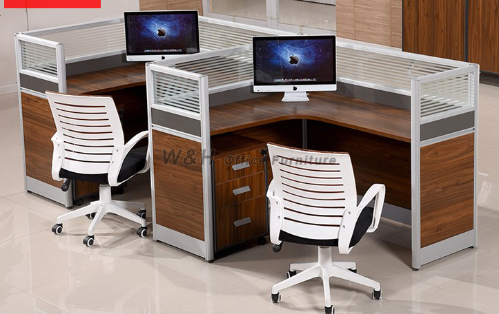 L-type modern classic office cubicles