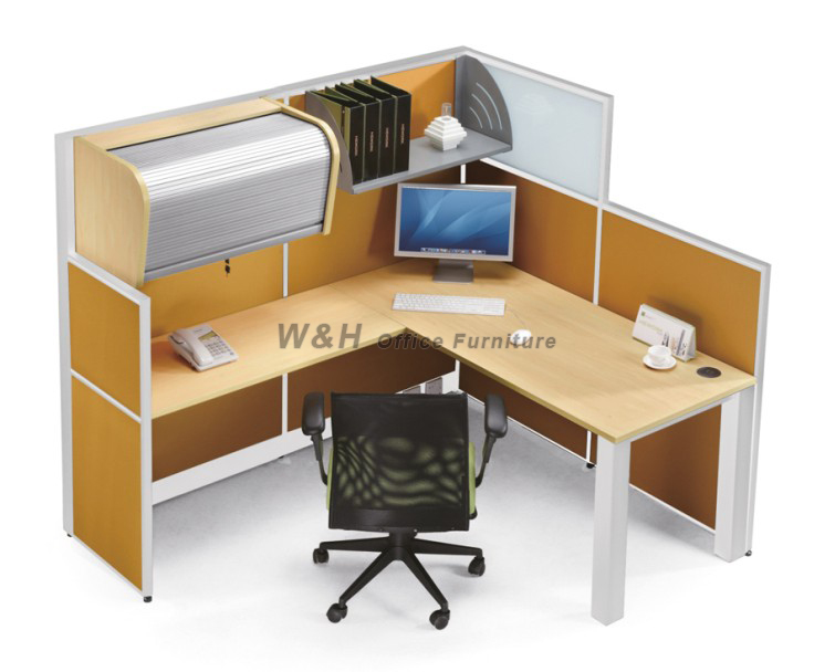 2 seats with cabinet office cubicles