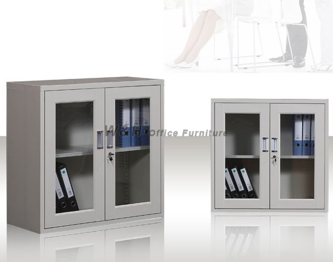 Double door small office file cabinet