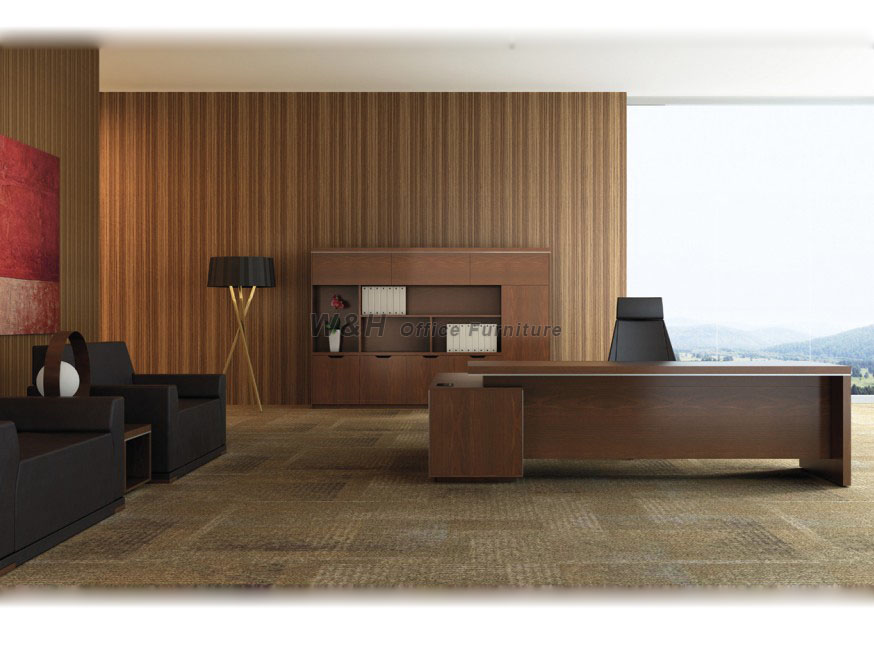 Brown Modern Manager office desk